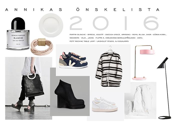 Annikas önskelistan vår 2016