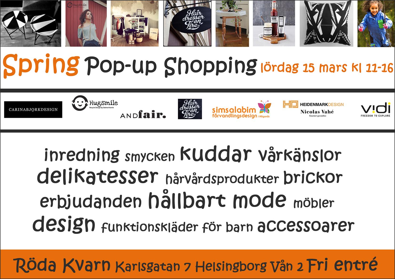 Spring Pop-up Shopping Röda Kvarn_140315